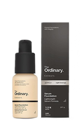 Best foundation from The Ordinary