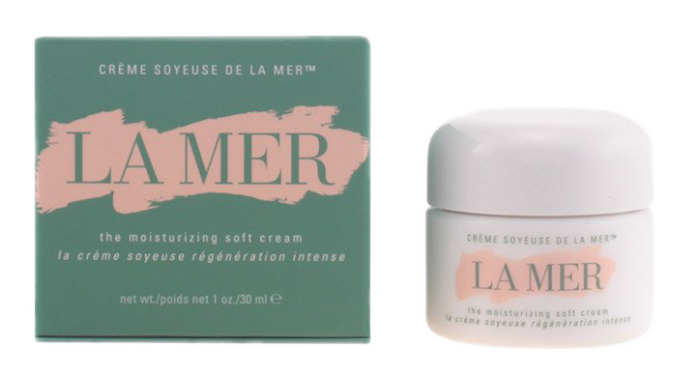 La Mer luxury moisturiser