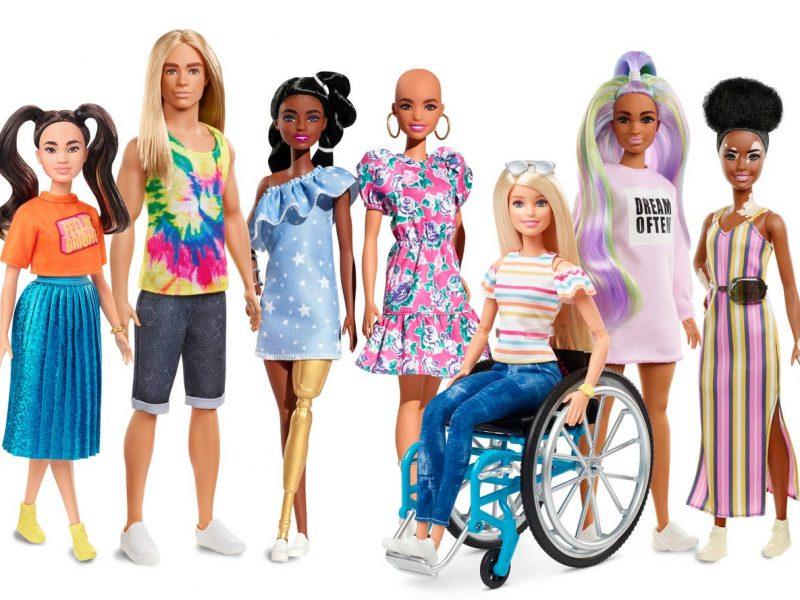 Barbie diversity range