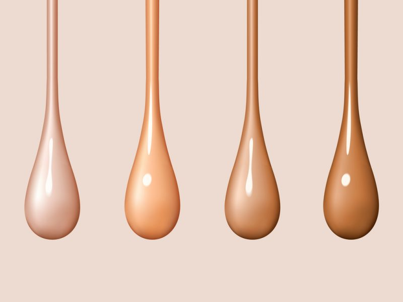 Find your perfect foundation match with this foundation shade finder