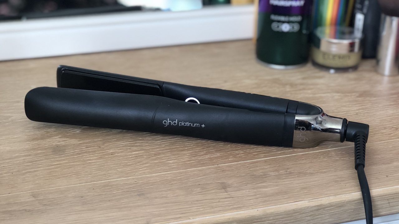 GHD Platinum Plus styler review