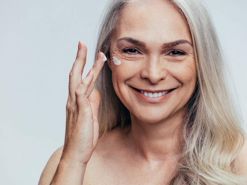 How to apply concealer to mature skin