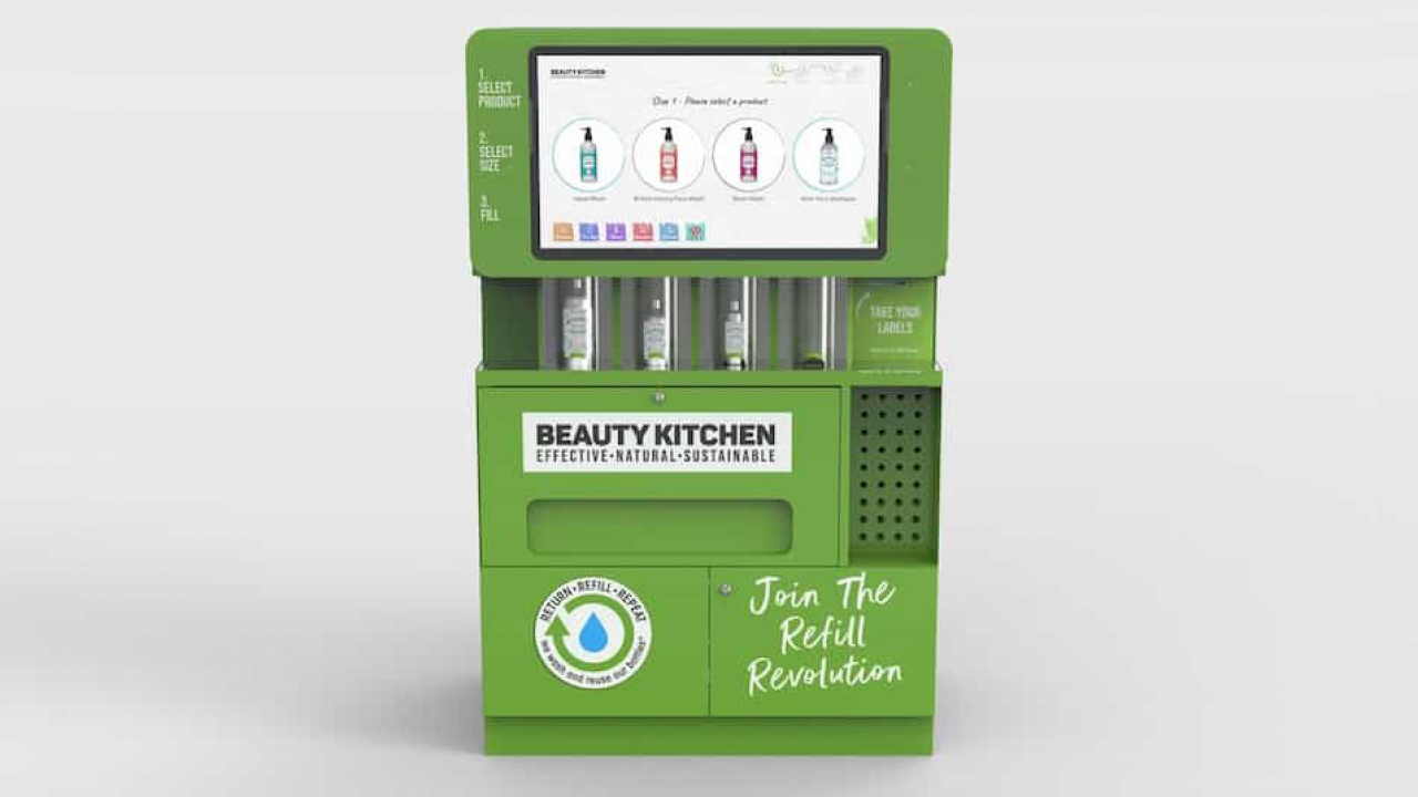 Beauty Kitchen refill station