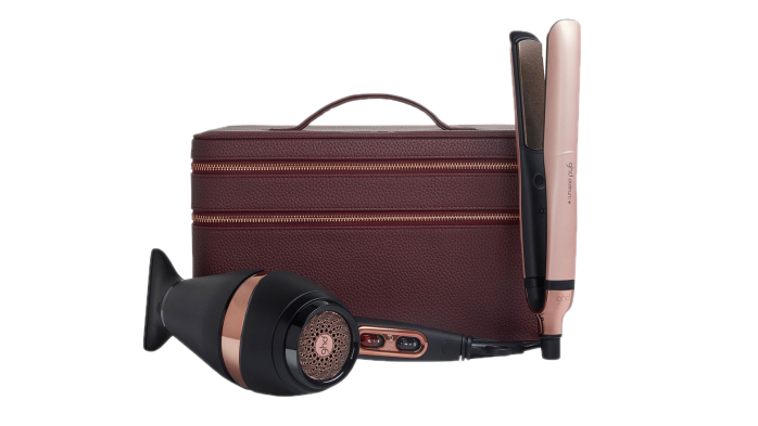GHD Platinum Plus and Air Hairdryer limited edition set