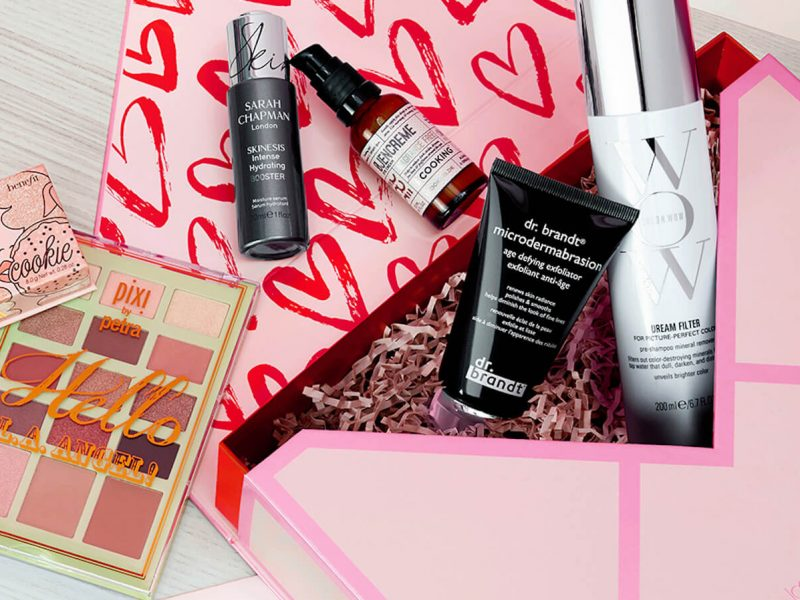 Lookfantastic Valentine's Day beauty box