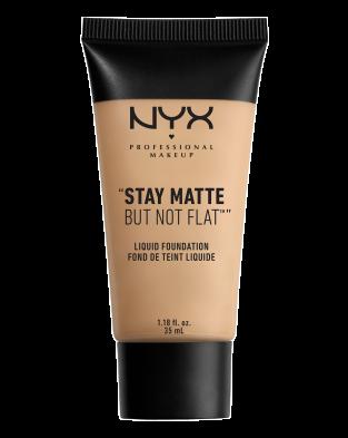 NYX foundation for oily skin