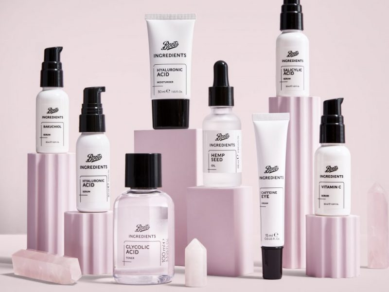 Boots Ingredients Skincare Collection
