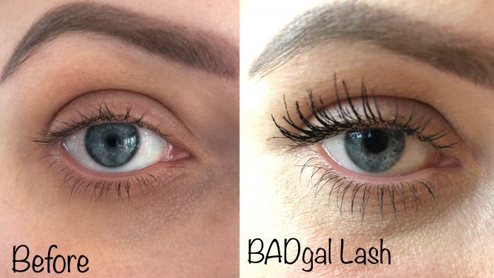BadGal lash benefit mascara comparison
