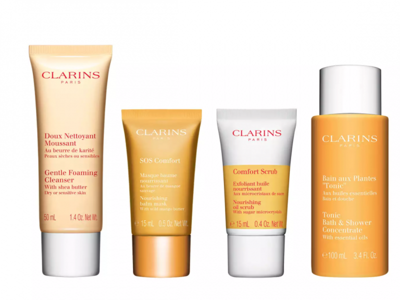 Clarins Tonic skincare collection