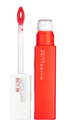 Maybelline Superstay red lipstick