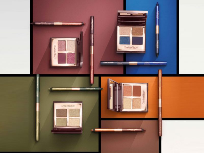New Charlotte Tilbury eyeshadow palettes for blue eyes green eyes brown eyes hazel eyes