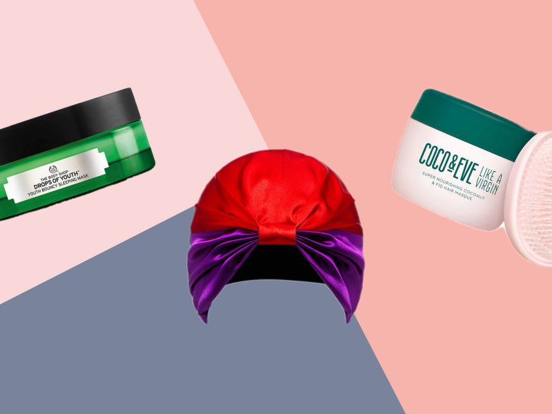 Best overnight hair mask face mask and foot treatment