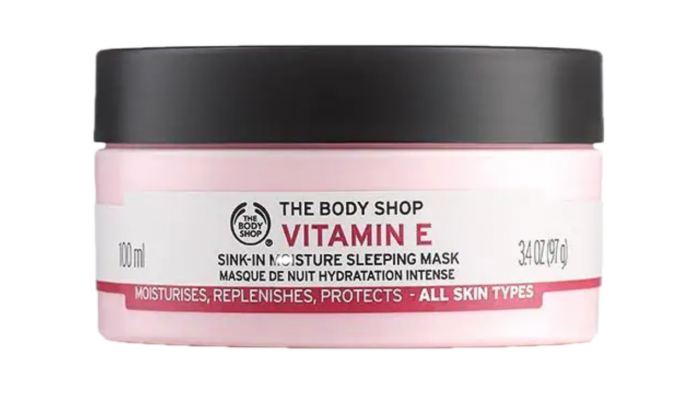 Body Shop Vitamin E sleeping mask
