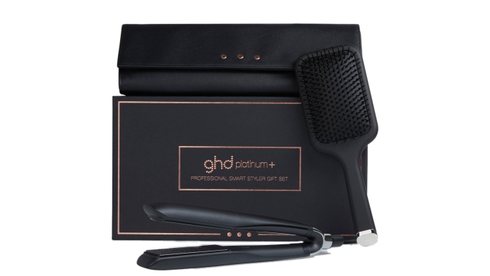 GHD Platinum Plus gift set