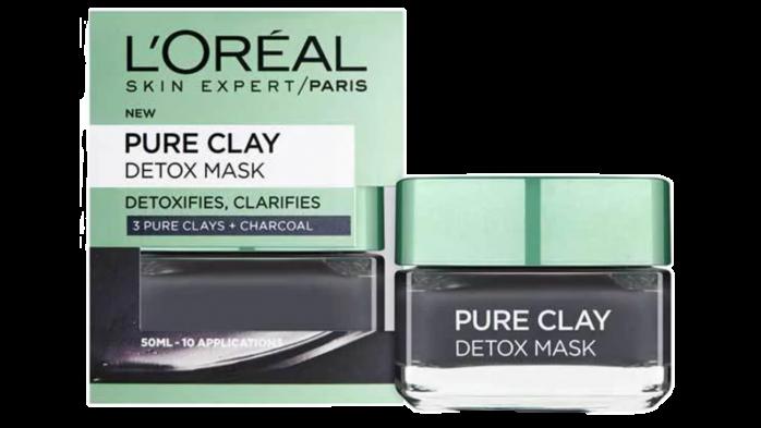 Loreal clay detox mask