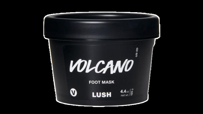 Lush Volcano best foot cream