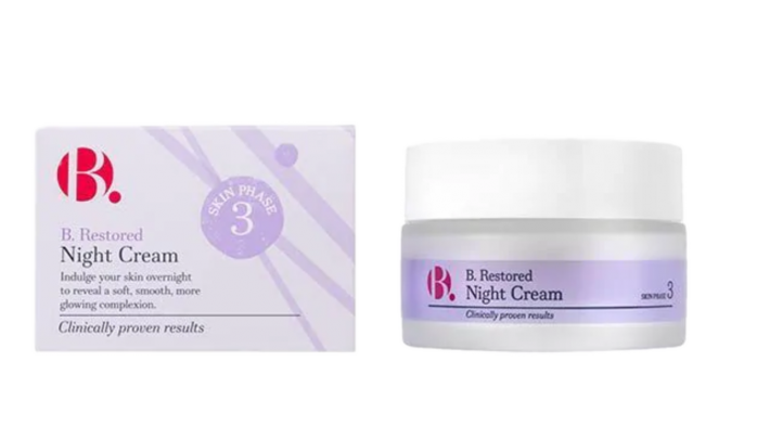 Superdrug B Skincare night cream