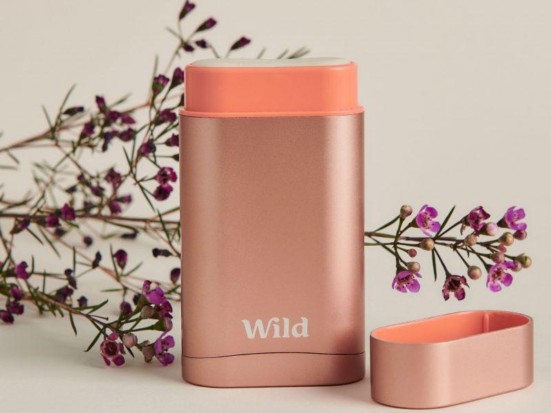Wild natural deodorant aluminium free vegan