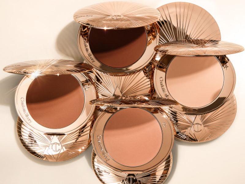 Charlotte Tilbury Airbrush bronzer four shades