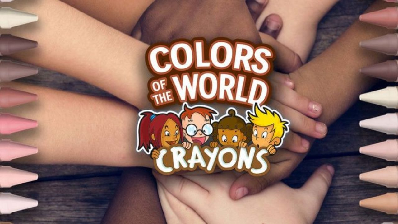 Multicultural crayons from Crayola