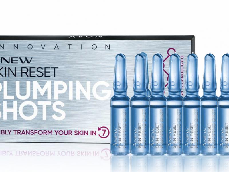 Avon Anew Skin Rest Plumping Shots Protinol