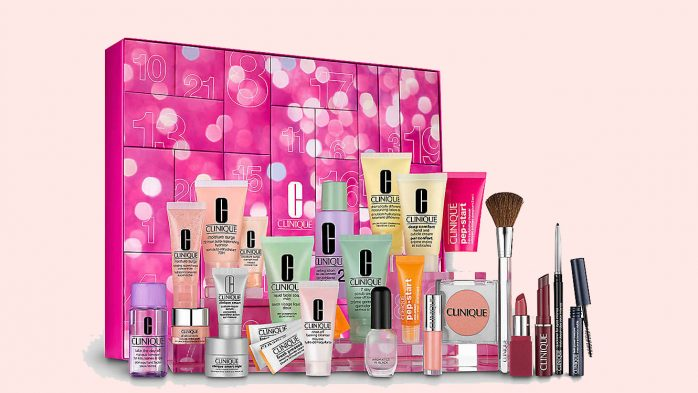 Clinique advent calendar beauty UK