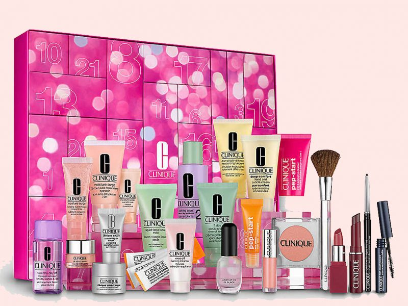 Clinique advent calendar beauty UK