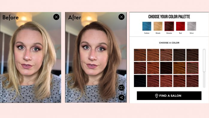 Hair colour change app free online