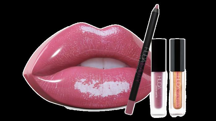 Huda Beauty lip kit