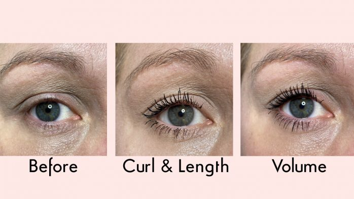 Huda Beauty mascara review before and after photos