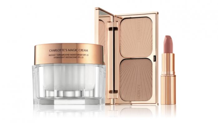 Iconic Lip, Contour and magic moisturiser trio