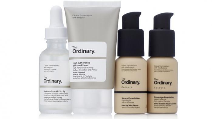 The Ordinary Four piece makeup and skincare set