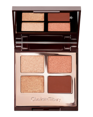 What eyeshadow goes with blue eyes Charlotte Tilbury
