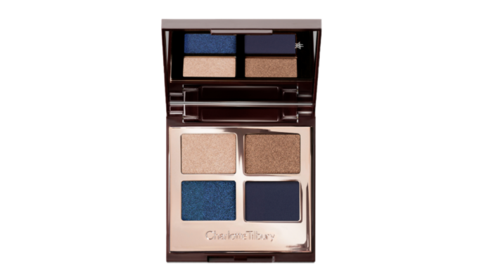 What eyeshadow goes with brown eyes Charlotte Tilbury Super Blue