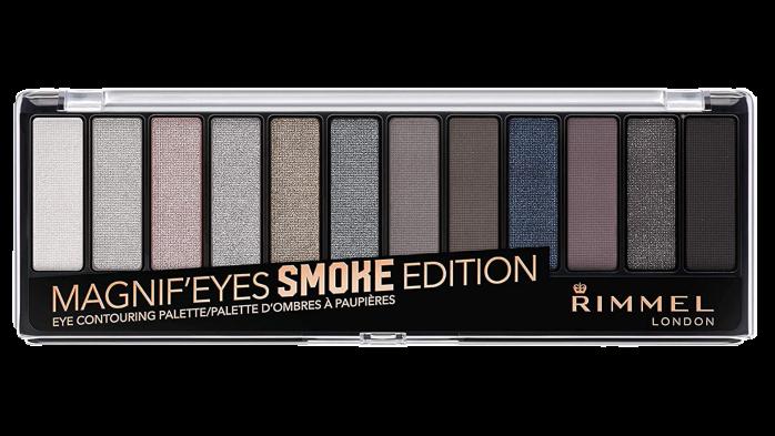 What eyeshadow goes with grey eyes Rimmel London Magnifeyes