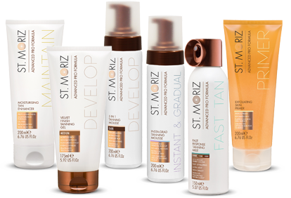 Best fake tan from St Moritz Pro Formula