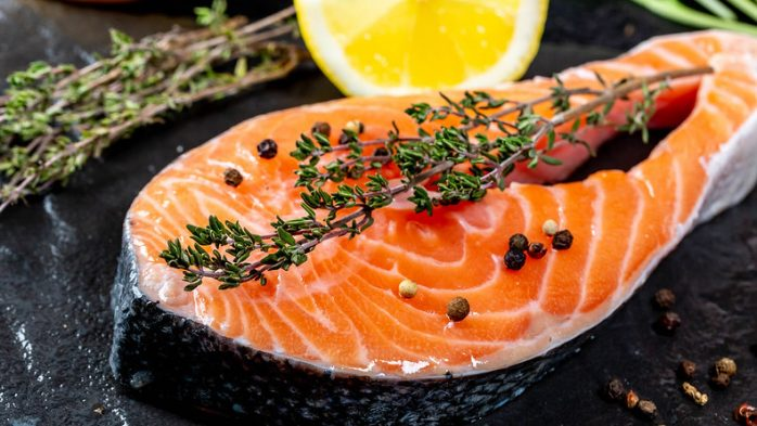 Best food for skin salmon