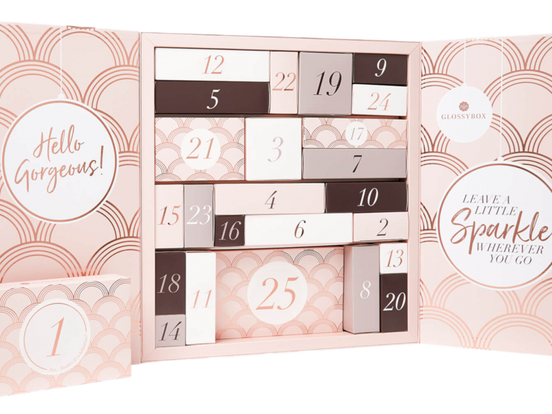 Glossybox Beauty Advent Calendar 2020 waitlist