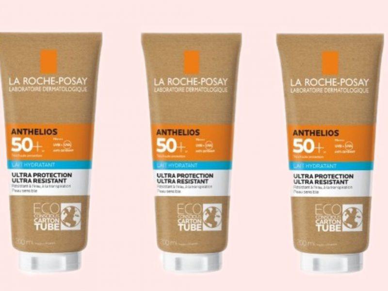 Loreal La Roche Posay plastic free packaging