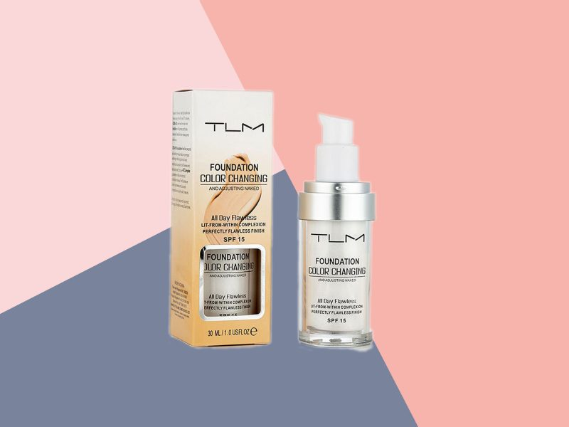 TLM foundation reviews colour changing