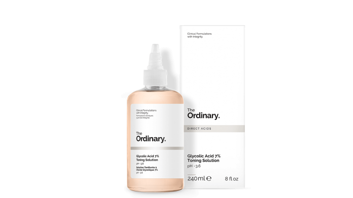 The Ordinary blackhead removal toning solution