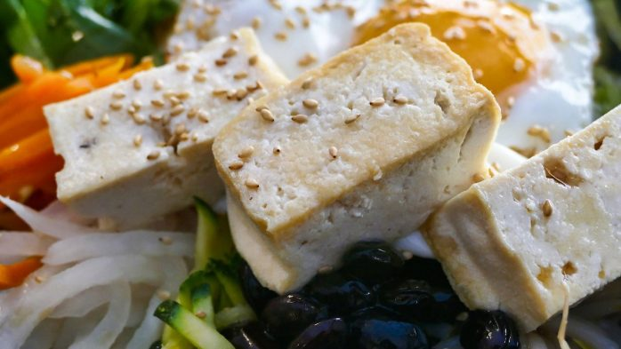 Tofu lean protein good for skin