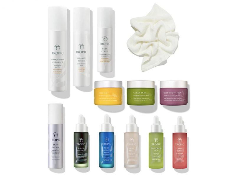 Tropic Skincare selection