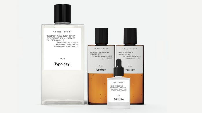 Typology UK best skincare