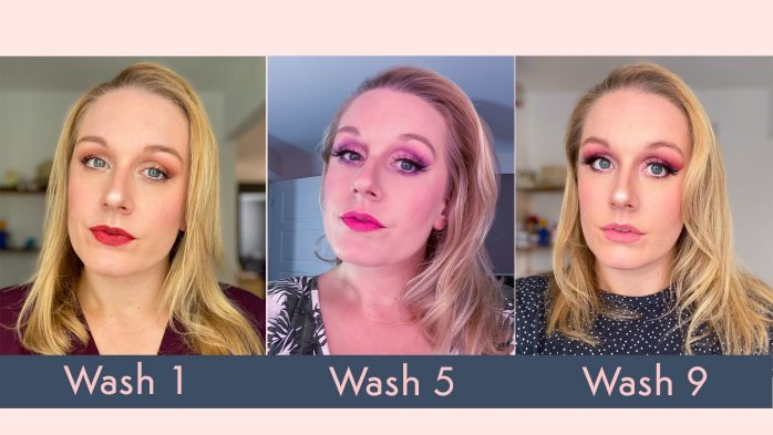 Hairstory New Wash review before and after photos