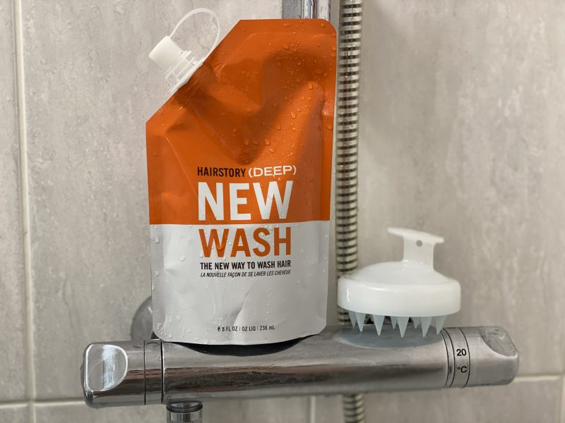 Hairstory New Wash how to use