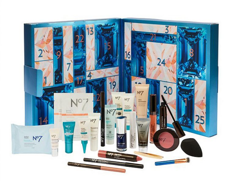 Boots No7 2020 beauty advent calendar