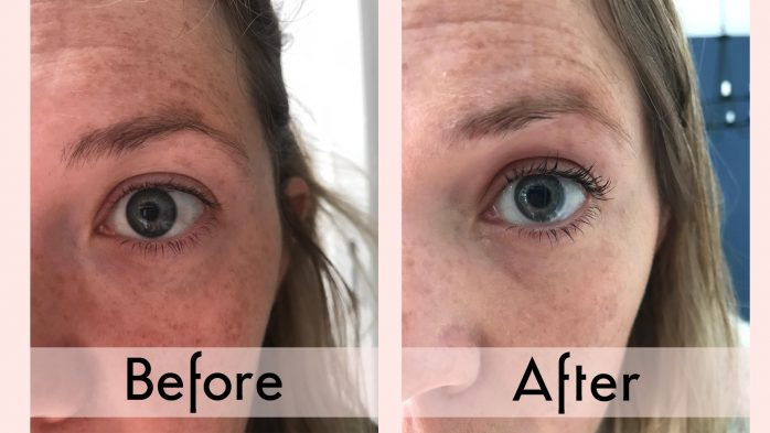 Diablo Lash Lift review before and after