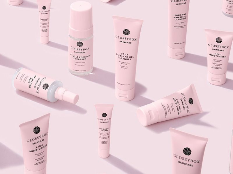 Glossybox Skincare price launch range products
