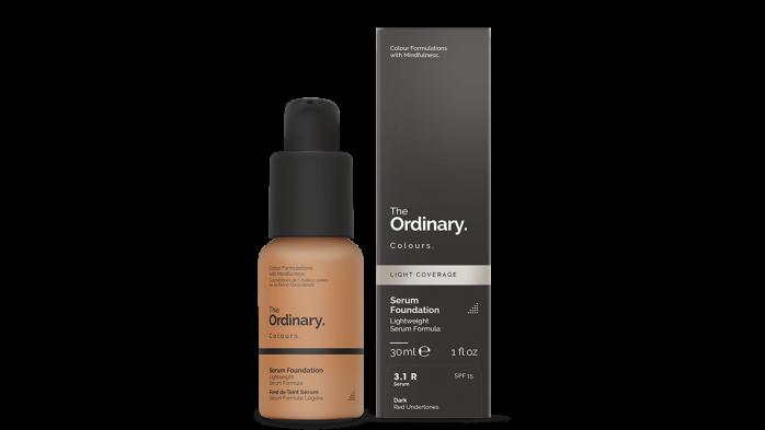 The Ordinary Serum foundation for mature skin